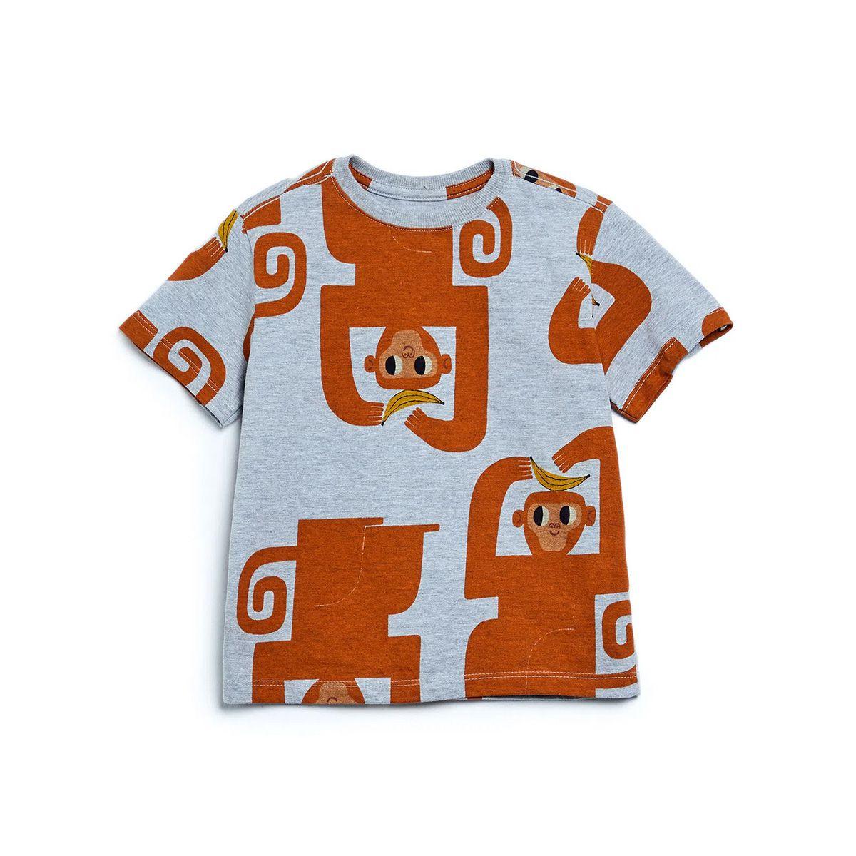 Camiseta Bento Masculina Macacos