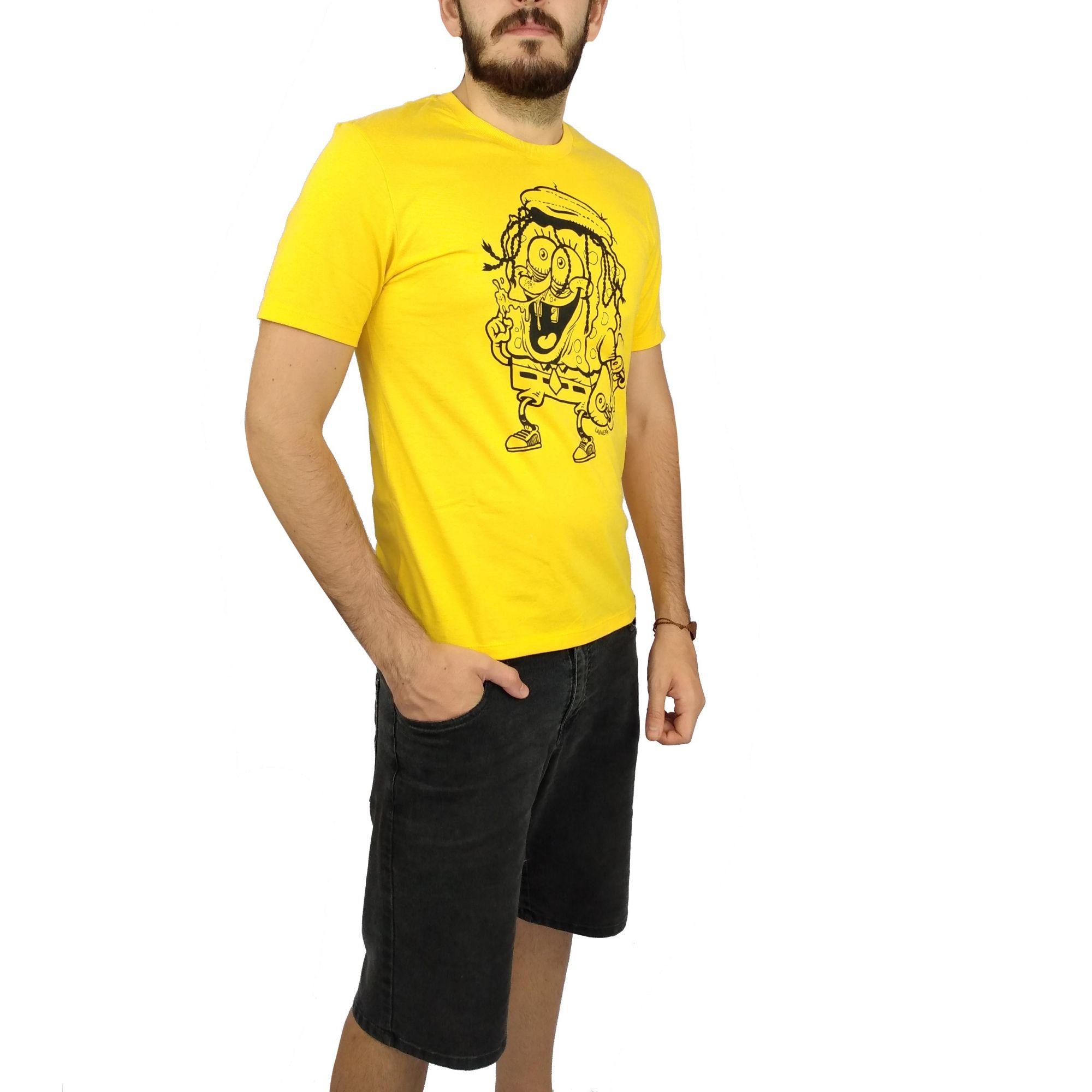 Camiseta Cavalera Masculina Bob Esponja
