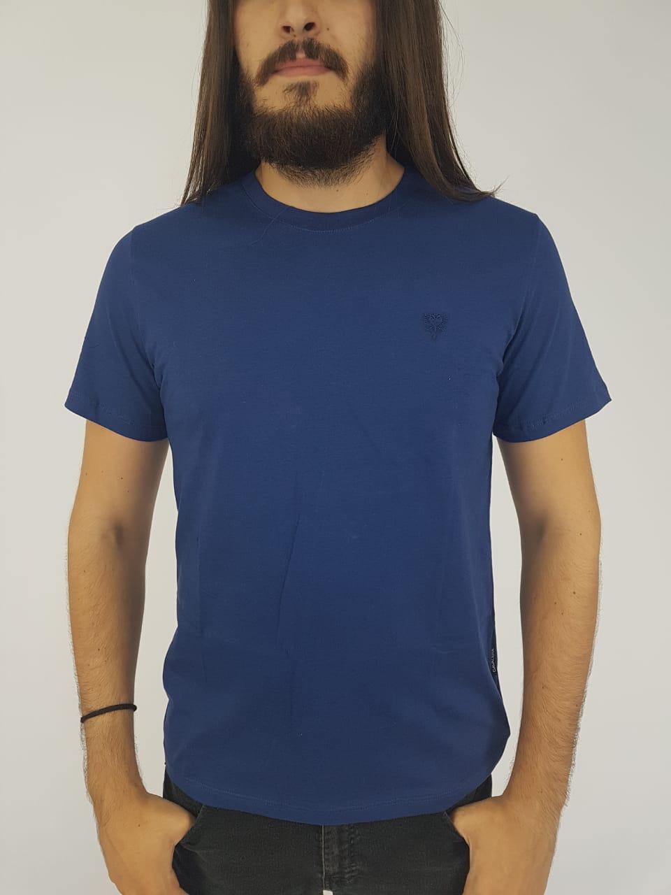 Camiseta Cavalera Masculina Manga Curta Básica 918a044a924