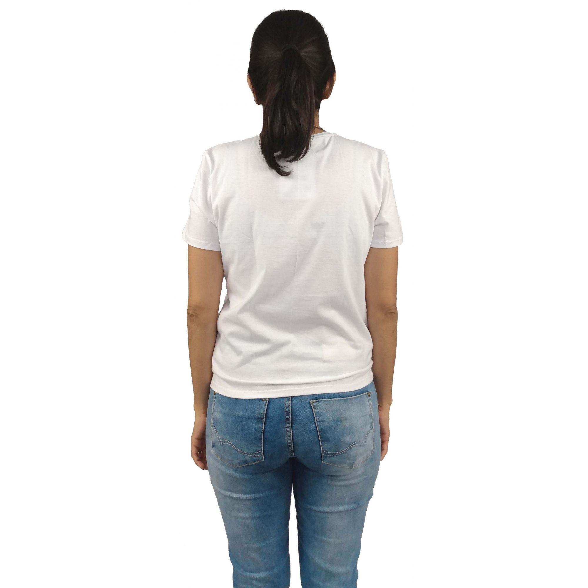 Camiseta Cavalera Feminina Águia Laranja
