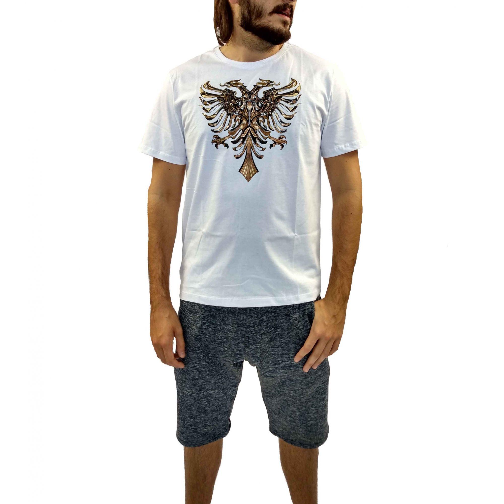 Camiseta Cavalera Masculina Águia Dourada
