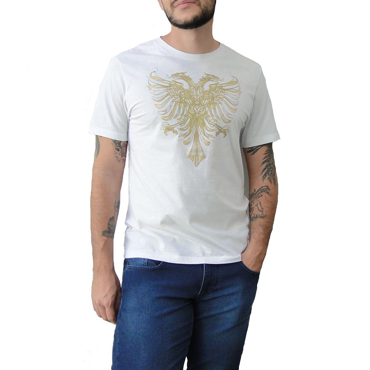 Camiseta Cavalera Masculina Aguia Dourada