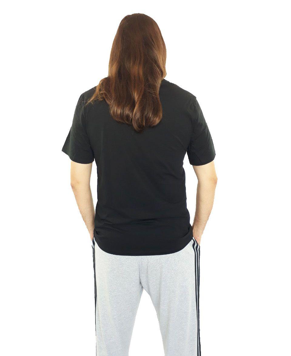 Camiseta Cavalera Masculina Águia Pintura Preta