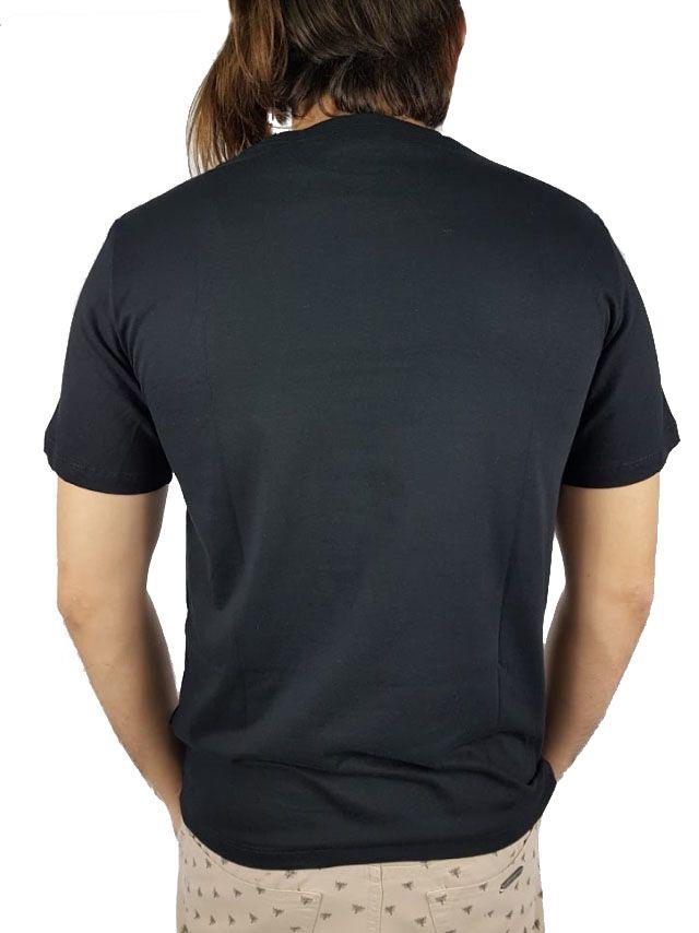 Camiseta Cavalera Masculina Águia Preta