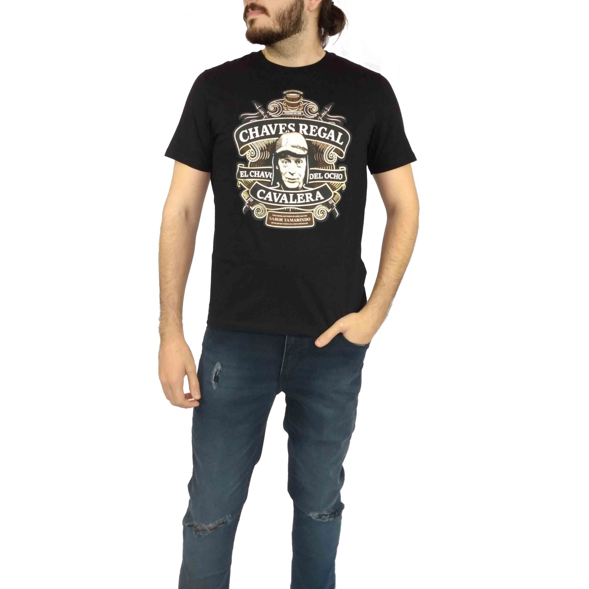 Camiseta Cavalera Masculina Chaves Regal
