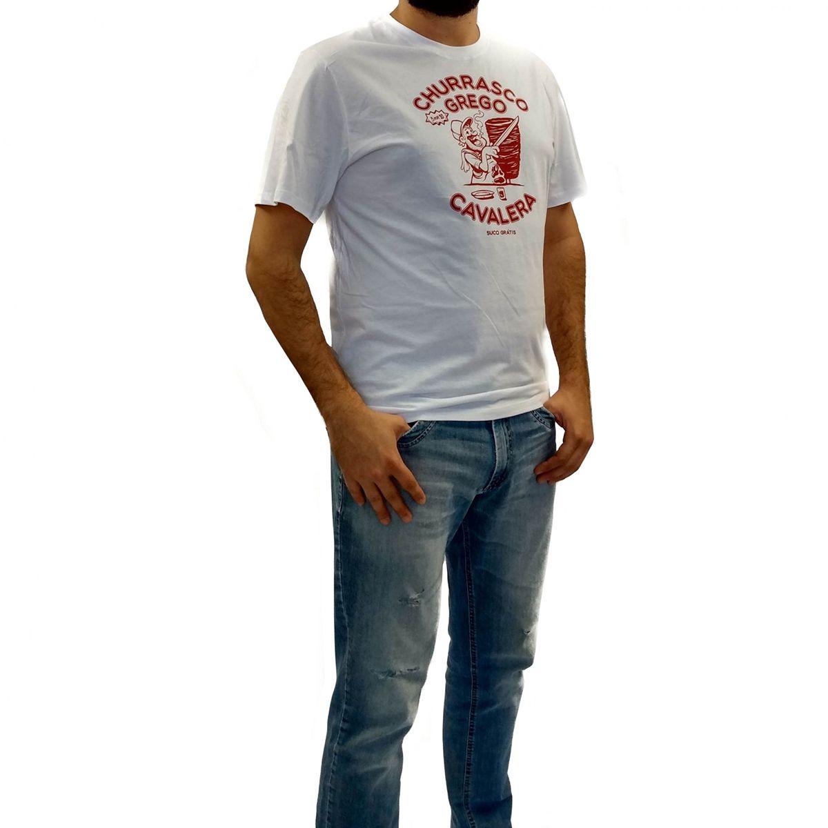 Camiseta Cavalera Masculina Churrasco Grego