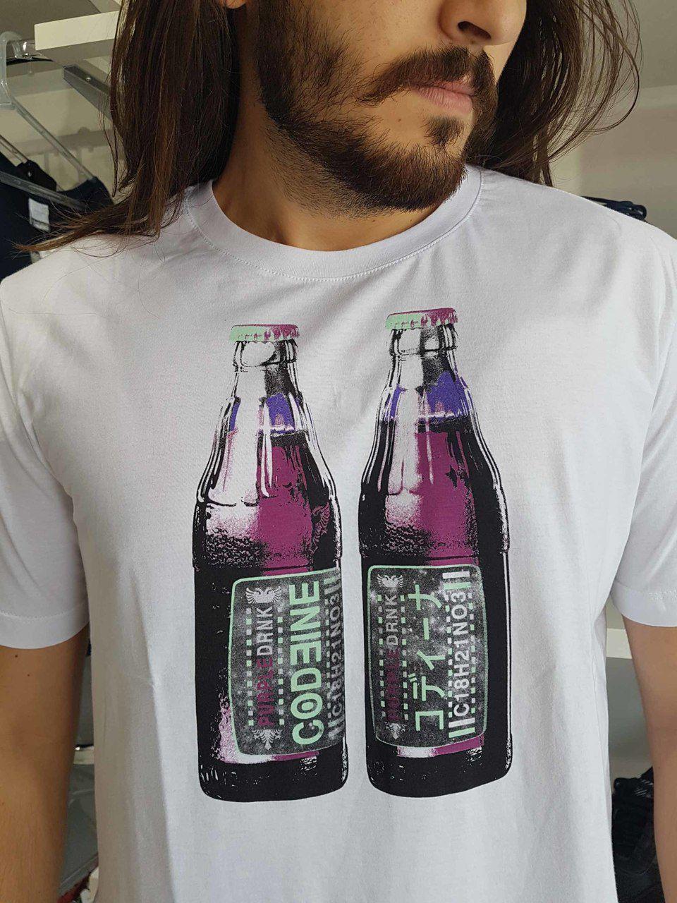 Camiseta Cavalera Masculina Garrafa Original  - Pick Tita