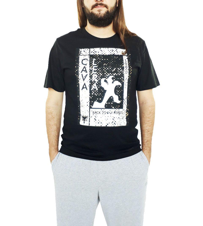 Camiseta Cavalera Masculina Garras Preta