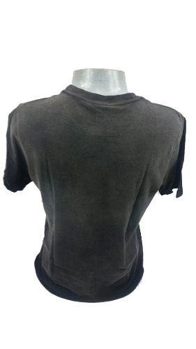 Camiseta Cavalera Masculina Manga Curta Águia Cinza