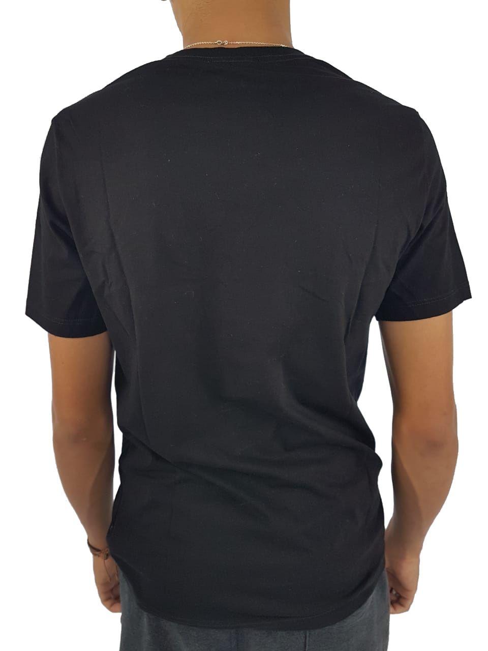 Camiseta Cavalera Masculina Manga Curta Bolso