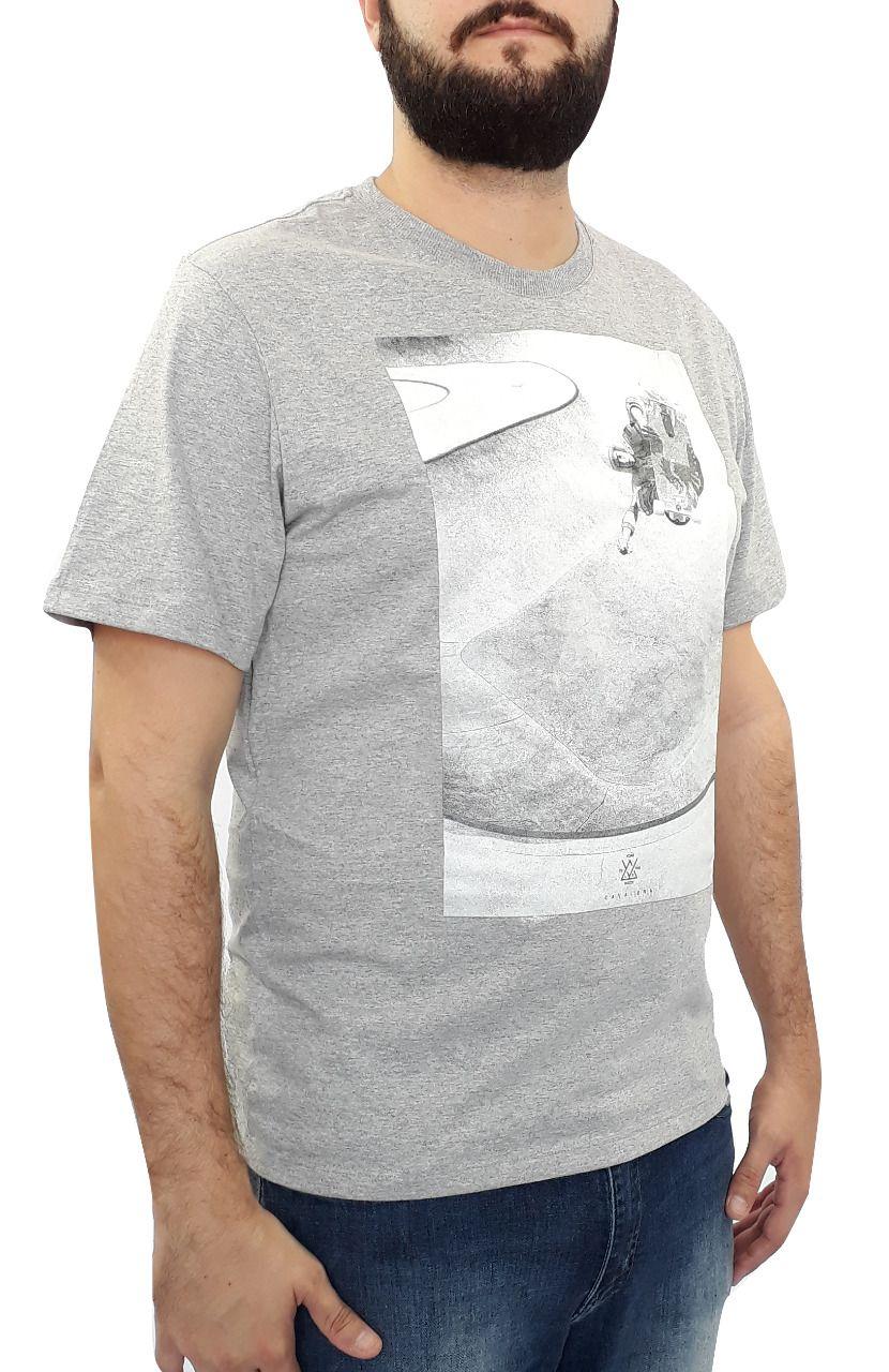 Camiseta Cavalera Masculina Mescla Estampada Skate