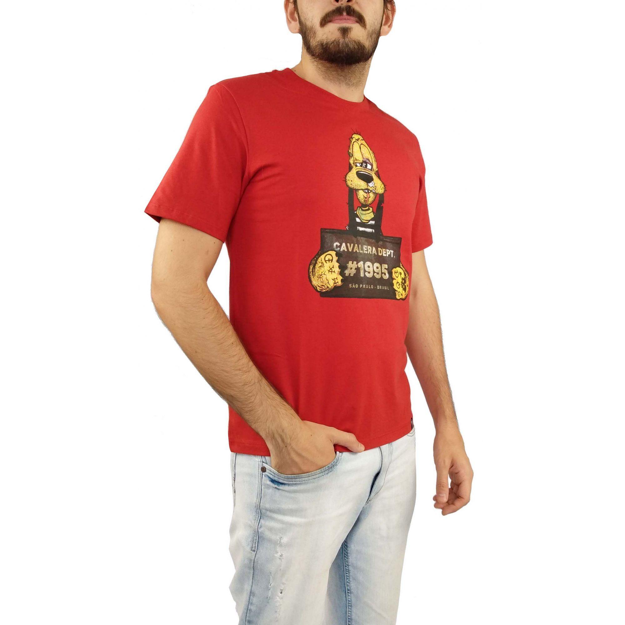 Camiseta Cavalera Masculina Pluto