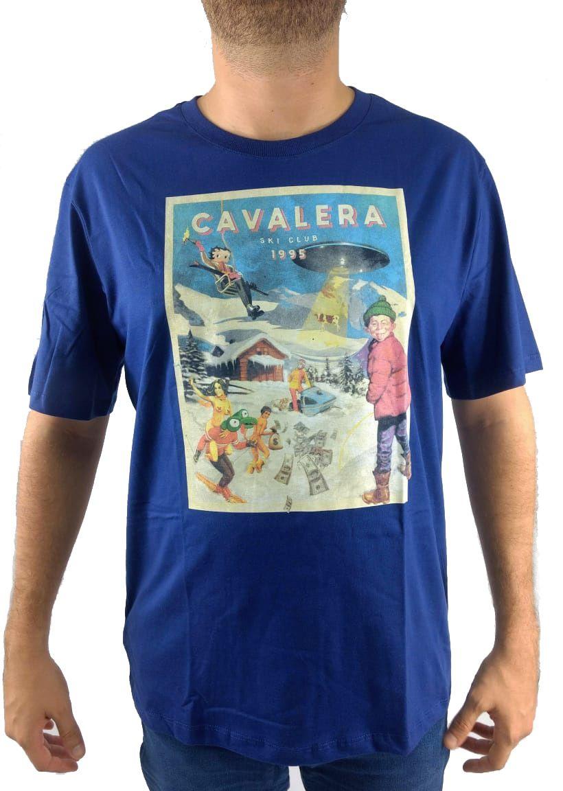 Camiseta Cavalera Masculina Personagens
