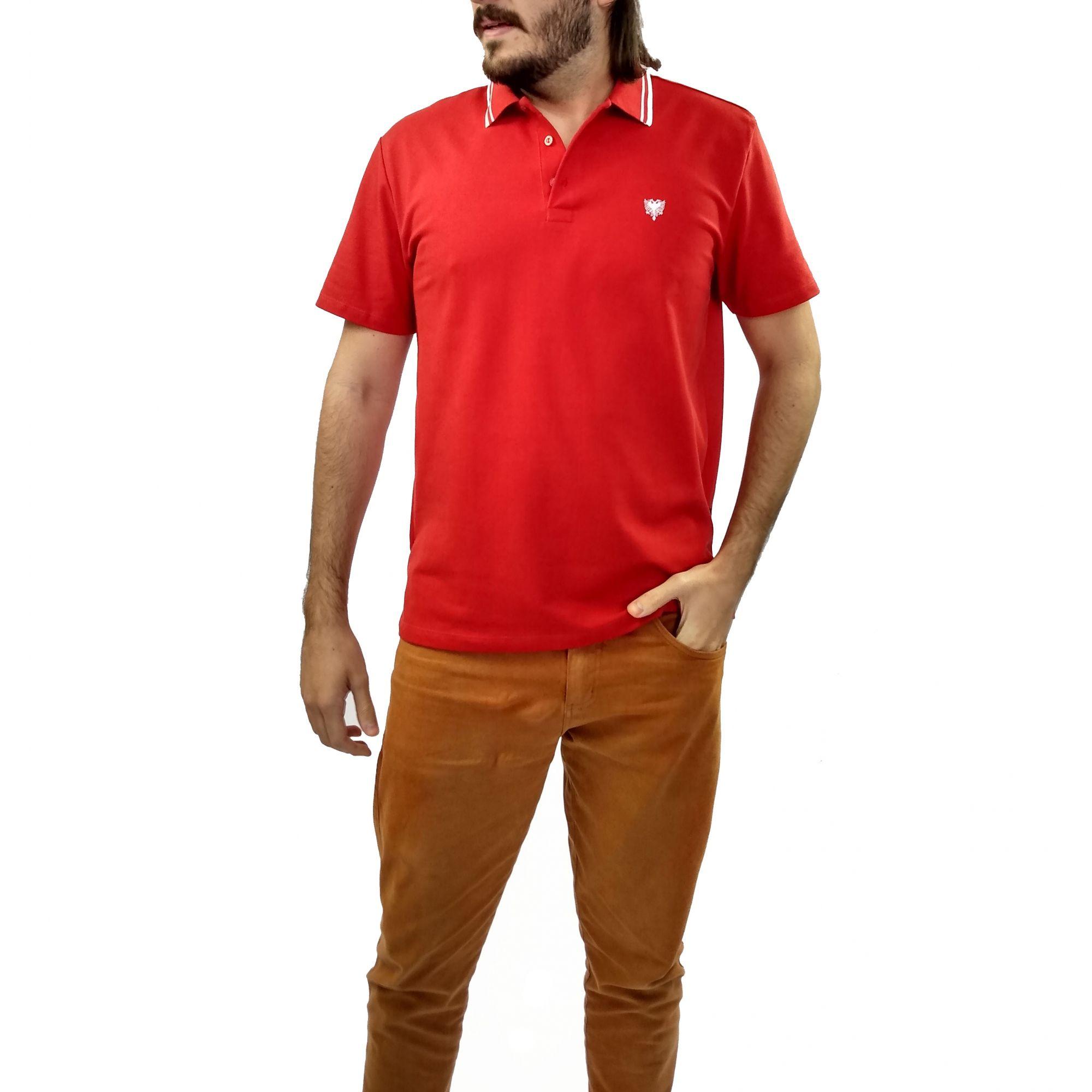 Camiseta Cavalera Masculina Gola Polo