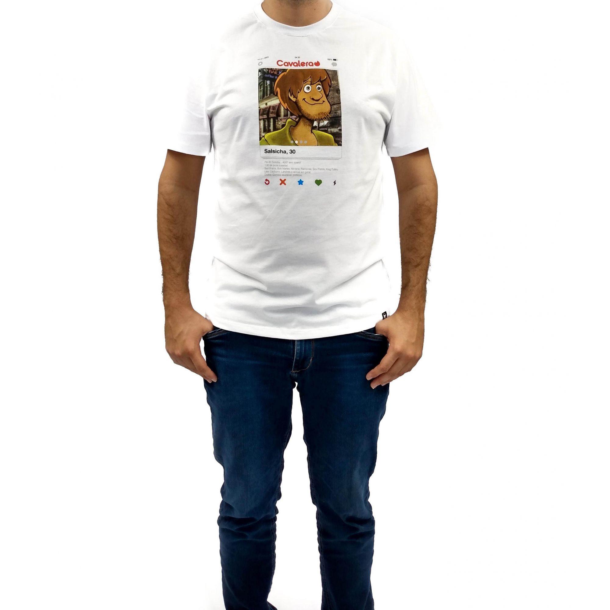 Camiseta Cavalera Masculina Salsicha