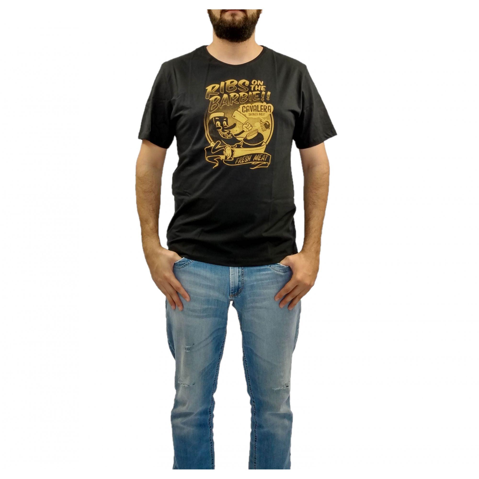 Camiseta Cavalera Masculina Smoked Ribs Preta