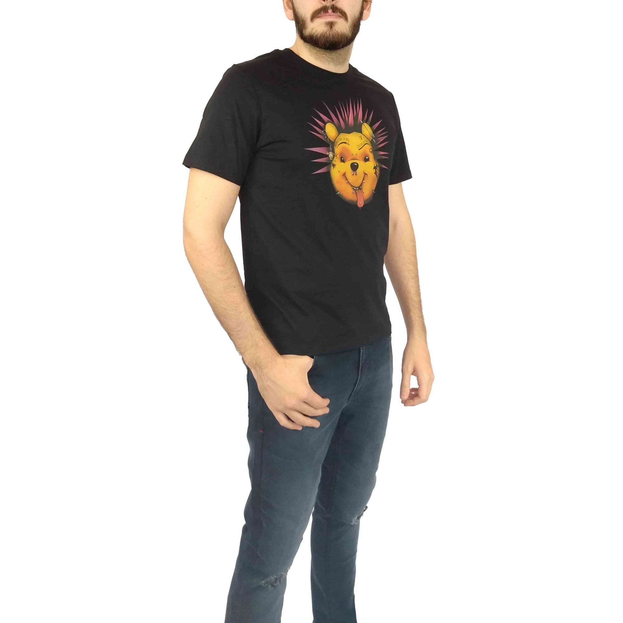 Camiseta Cavalera Masculina Urso Pooh