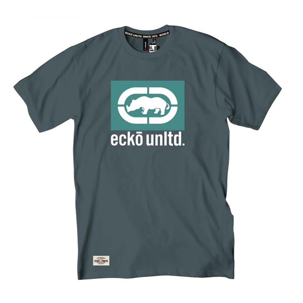 Camiseta Ecko Masculina Logotipo Rhino