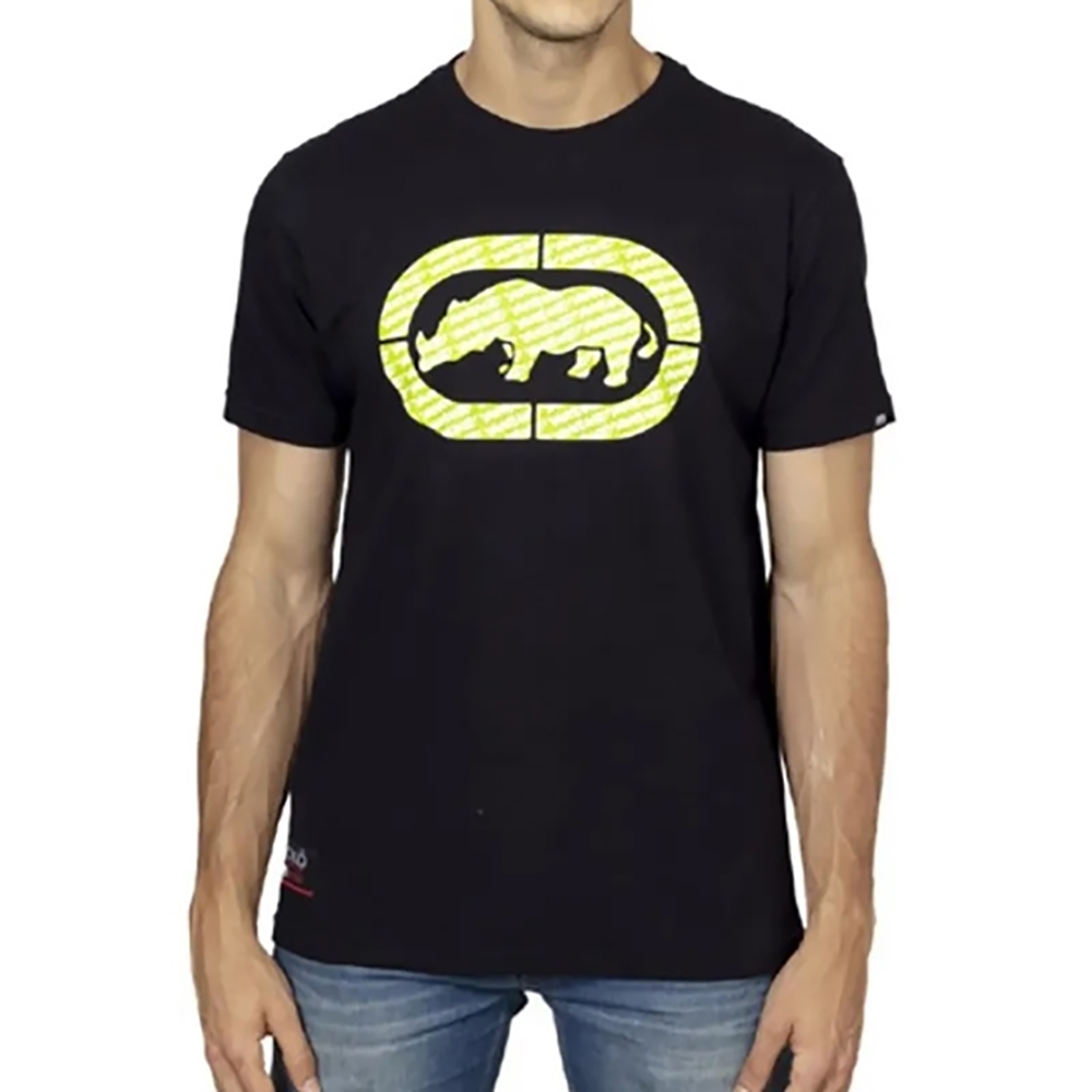 Camiseta Ecko Masculina Rino Preta