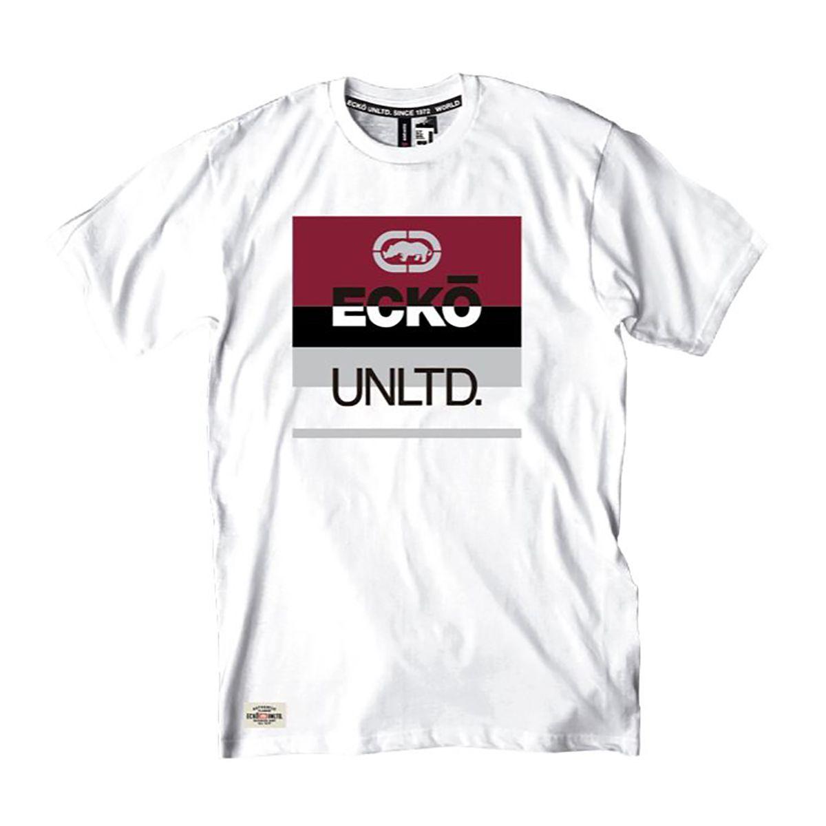 Camiseta Ecko Masculina Rinoceronte Logotipo