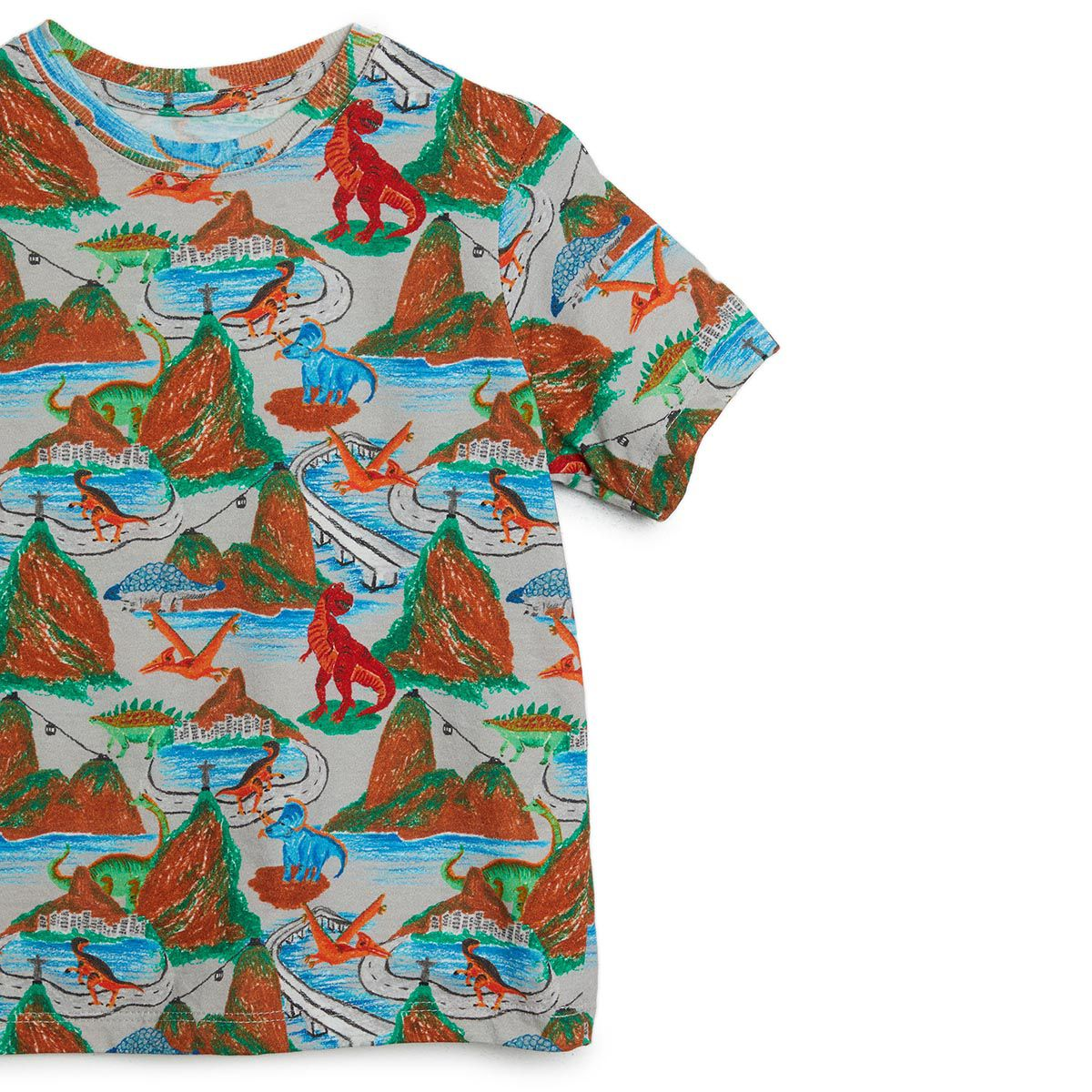 Camiseta Bento Masculina Dinossauros