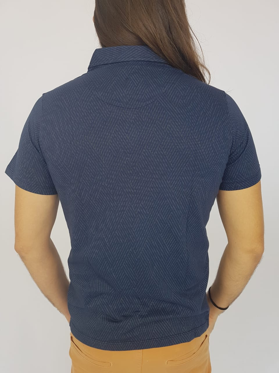 Camiseta Masculina Ogochi Polo Manga Curta Lisa