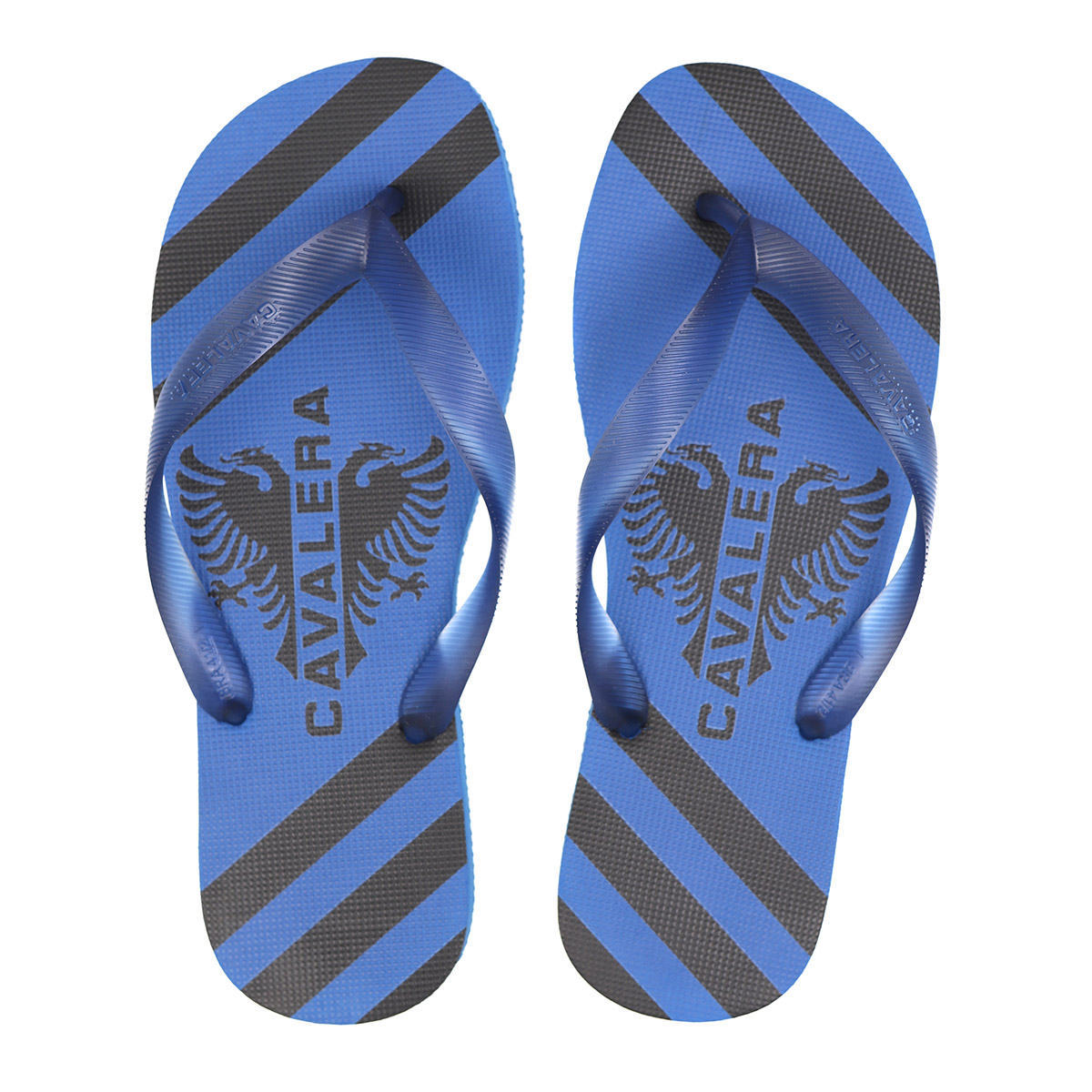 Chinelo Cavalera Masculino Stripes Azul