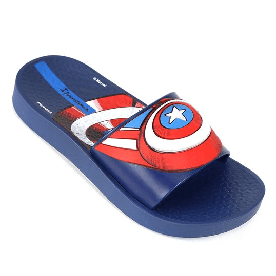 Chinelo Ipanema Capitão America Avengers Slide Infantil
