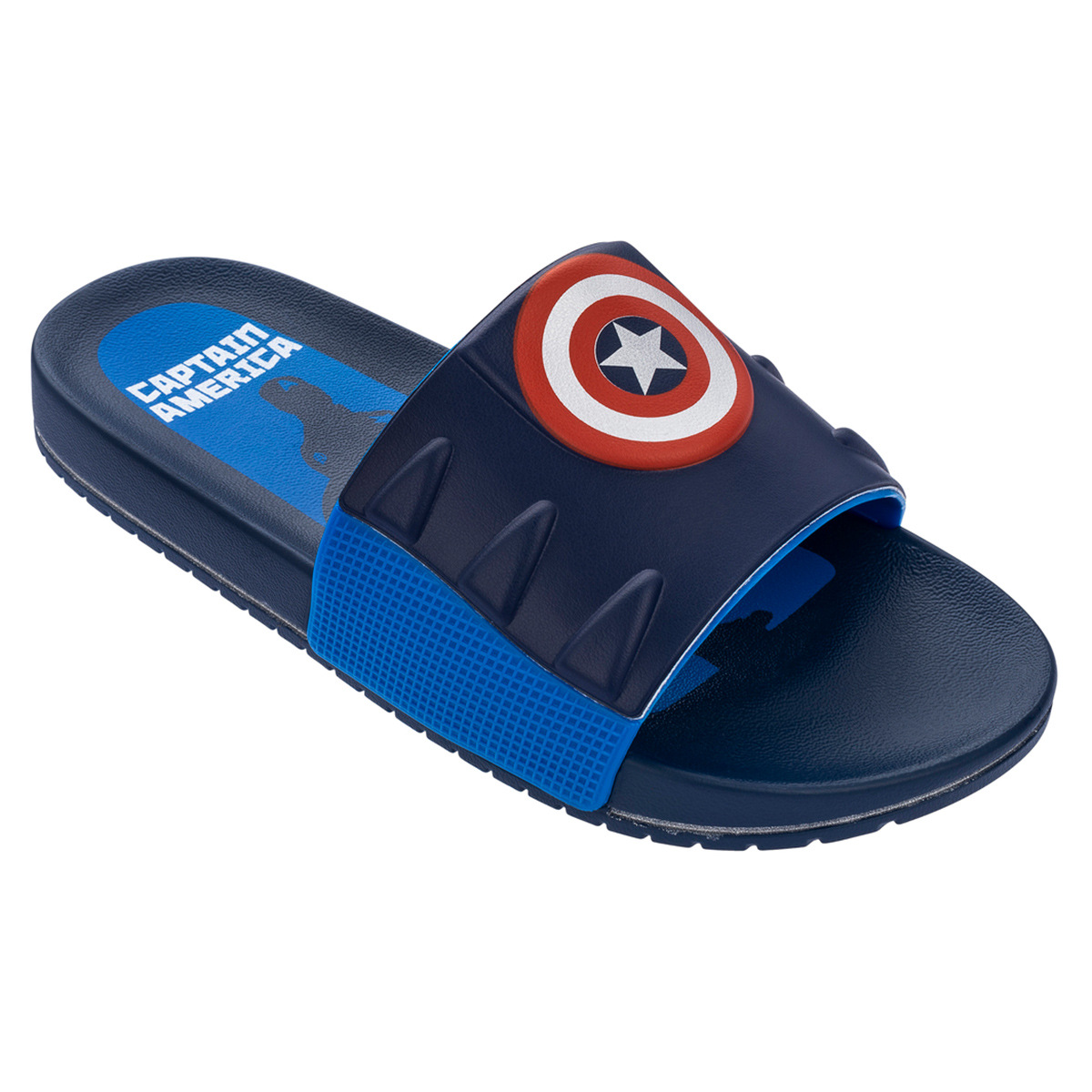 Chinelo Marvel Capitão America Slide