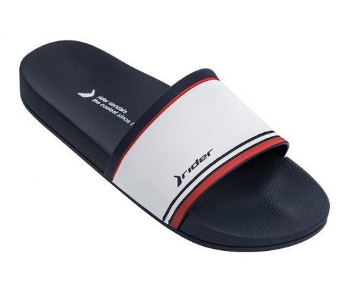 Chinelo Rider Masculino Full Slide Branco