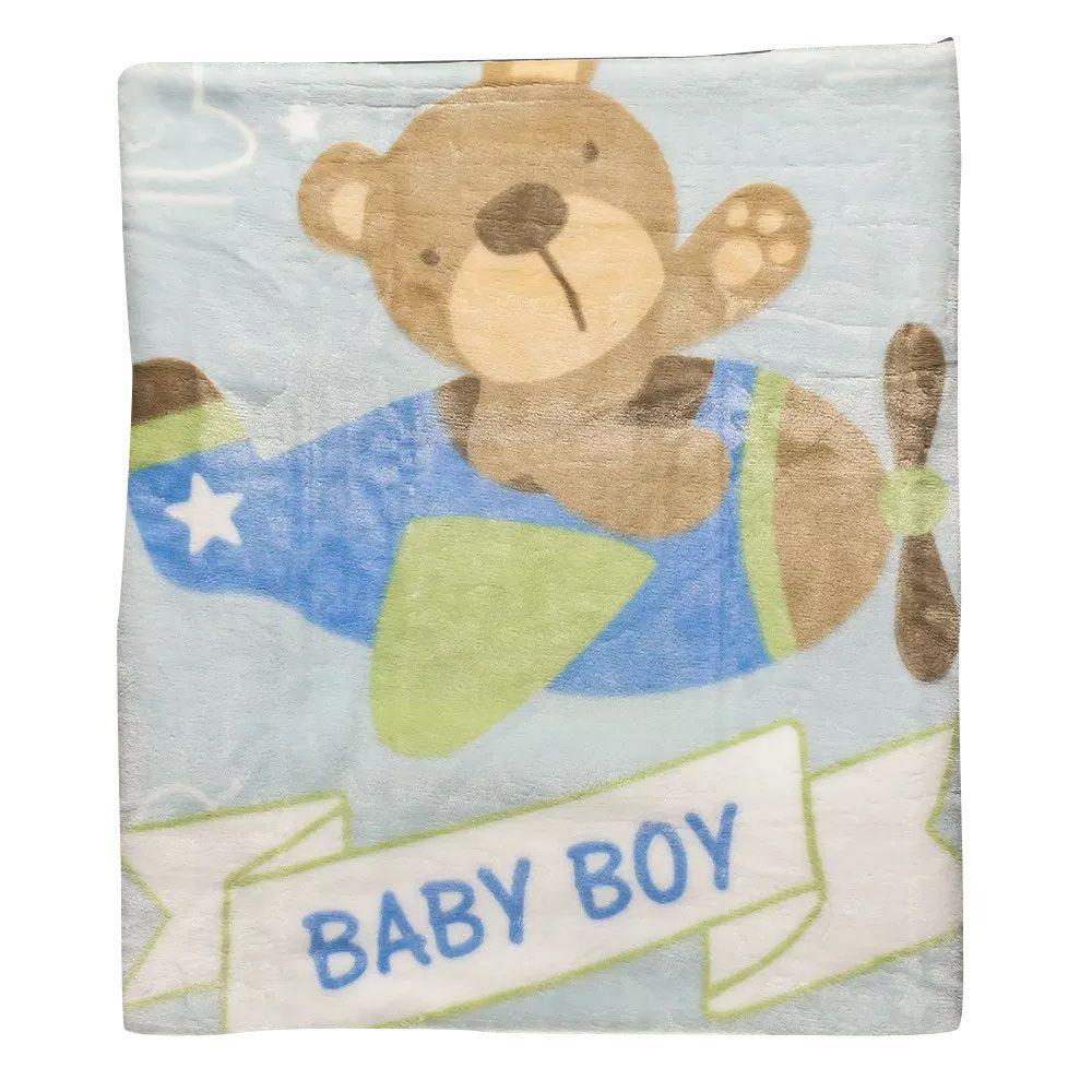 Cobertor Baby Class Etruria Bebe Rosa Belle