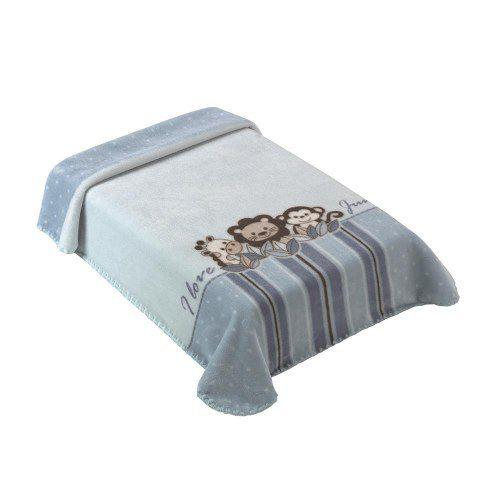 Cobertor Para Berço Colibri Jungle