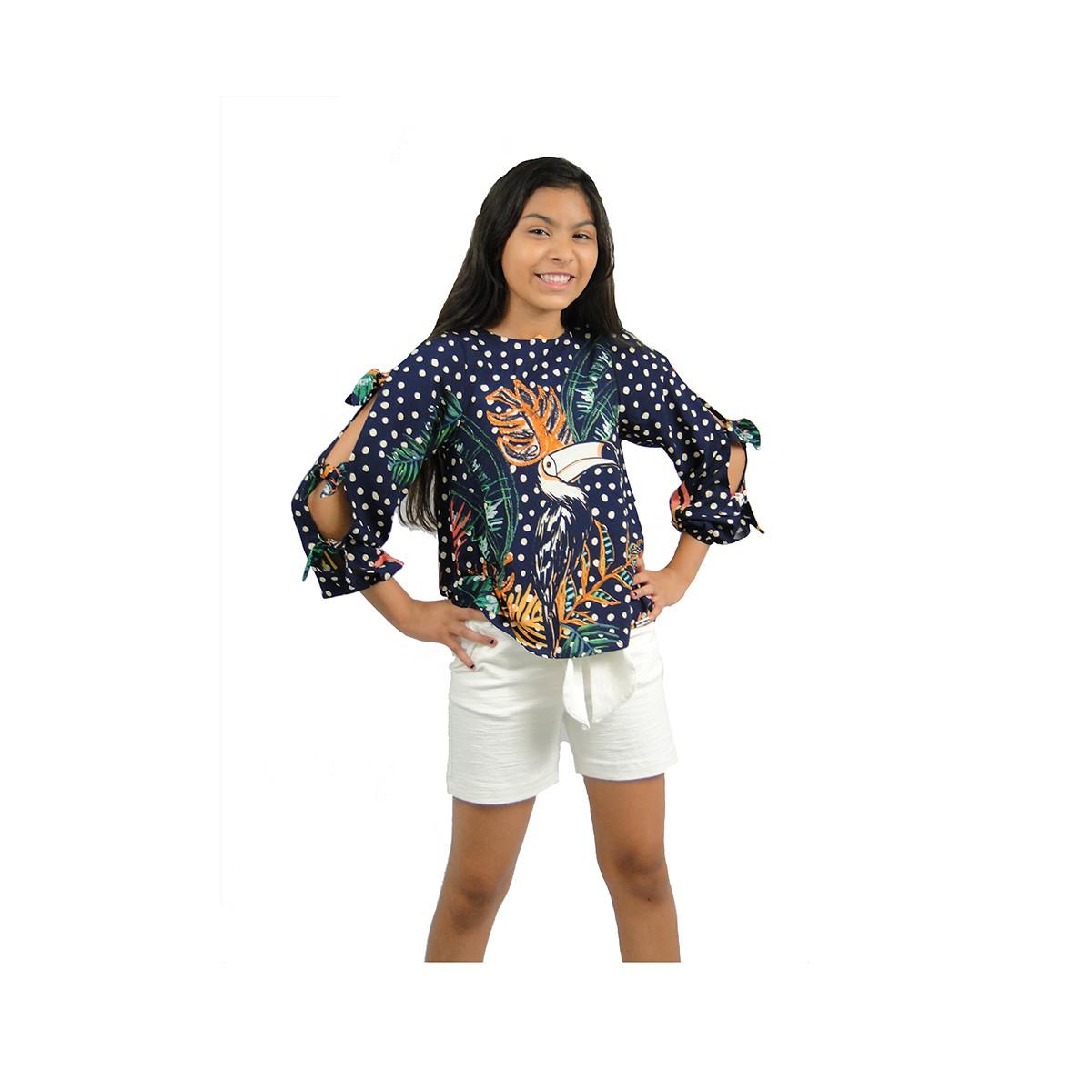 Conjunto Camu Camu Feminino Tucanos
