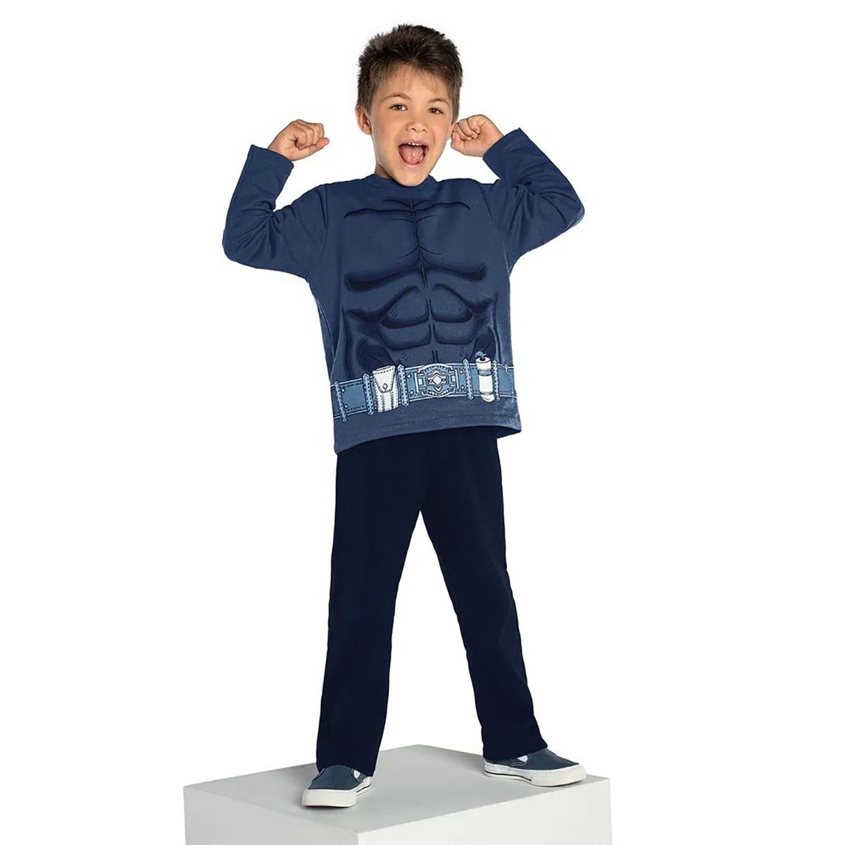 Conjunto Rovitex Masculino Hulk Kids