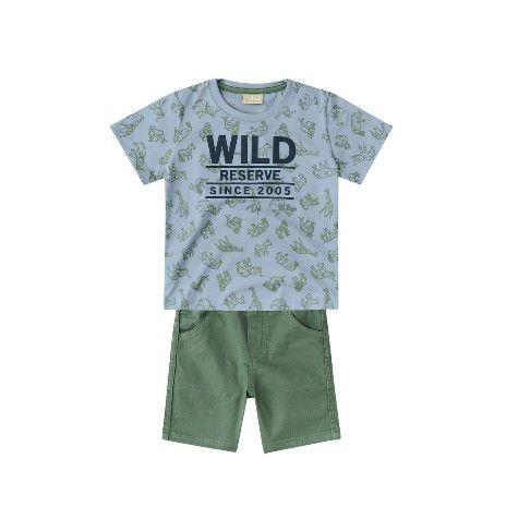 Conjunto Infantil Milon Wild Menino