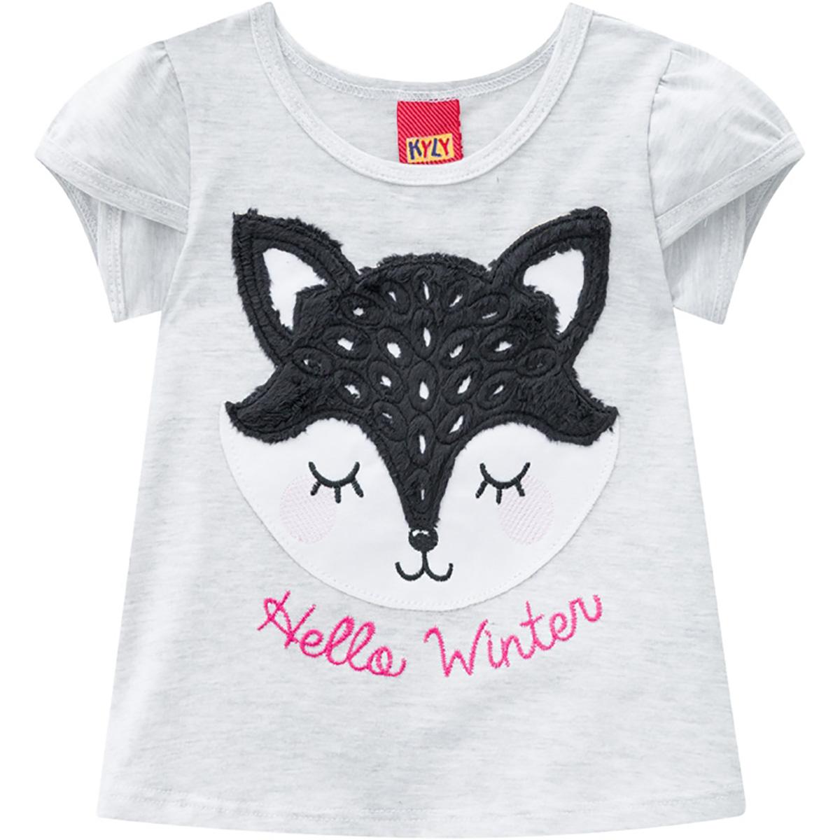 Conjunto Kyly Feminino Bebê Hello Winter