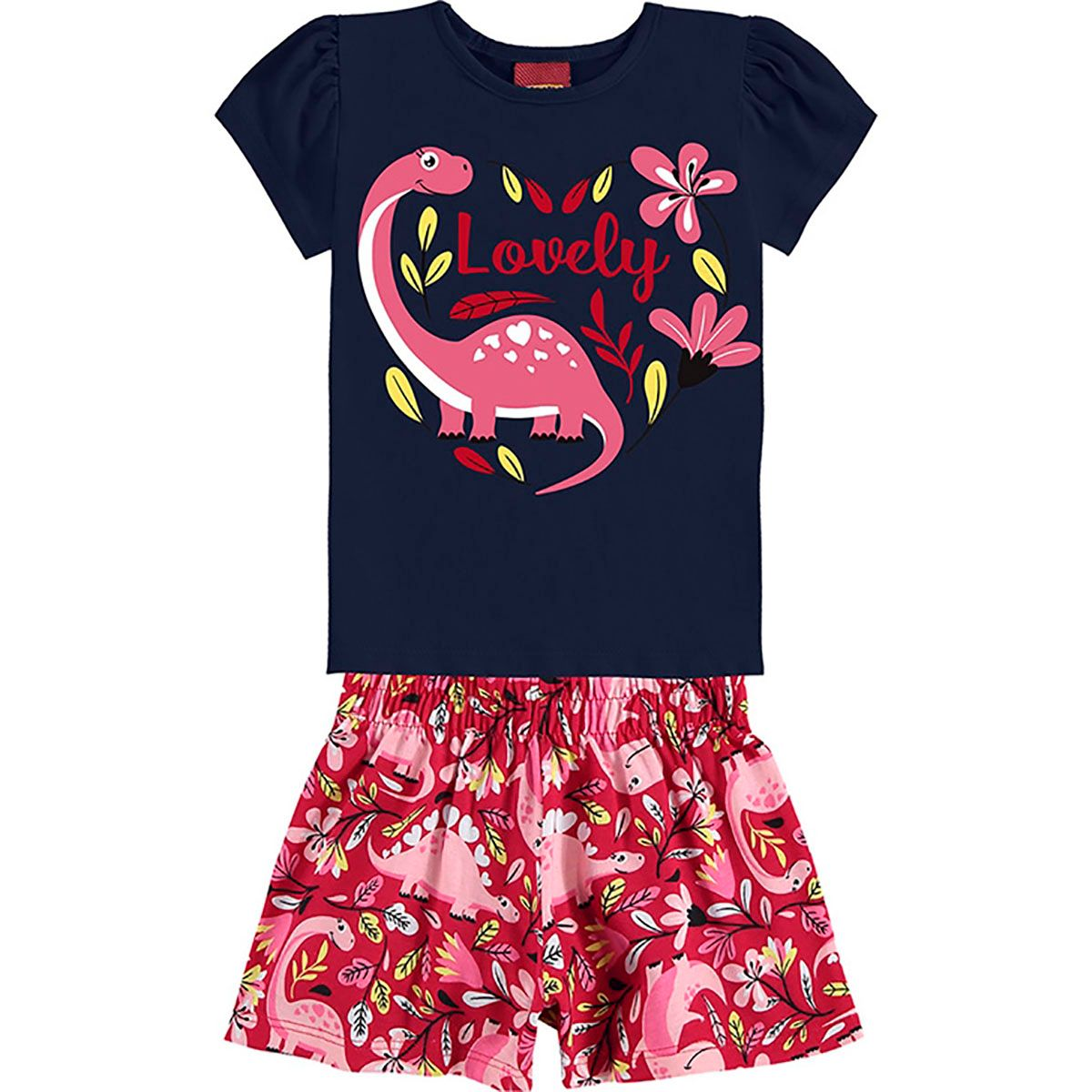 Conjunto Kyly Feminino Infantil Lovely