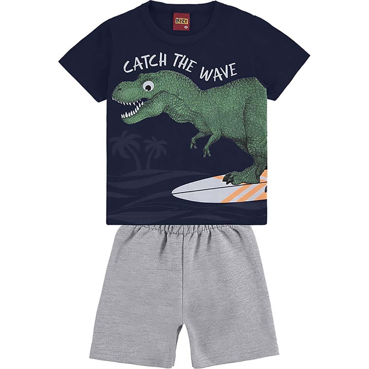 Conjunto Kyly Masculino Bebê Catch The Wave
