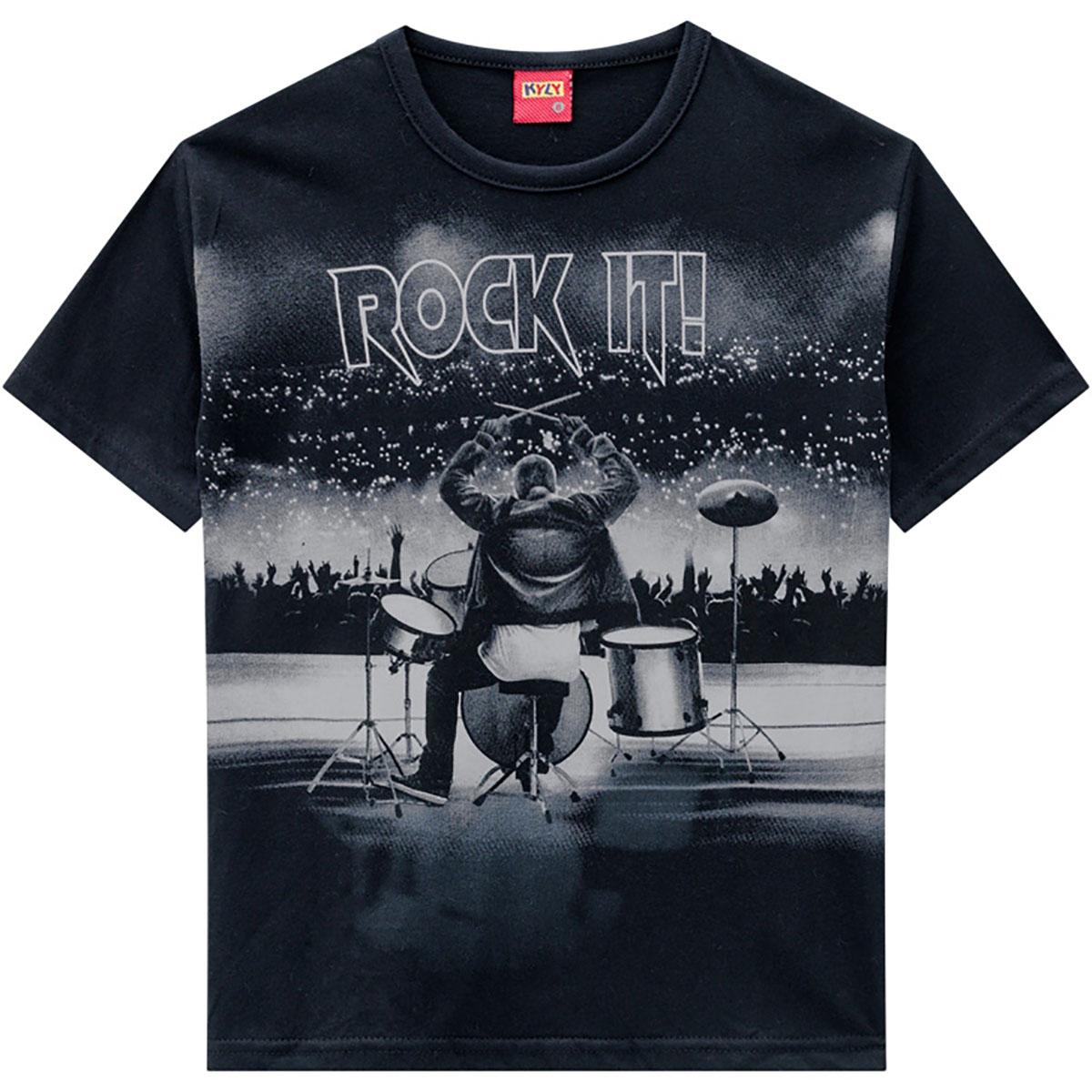 Conjunto Kyly Masculino Infantil Rock It