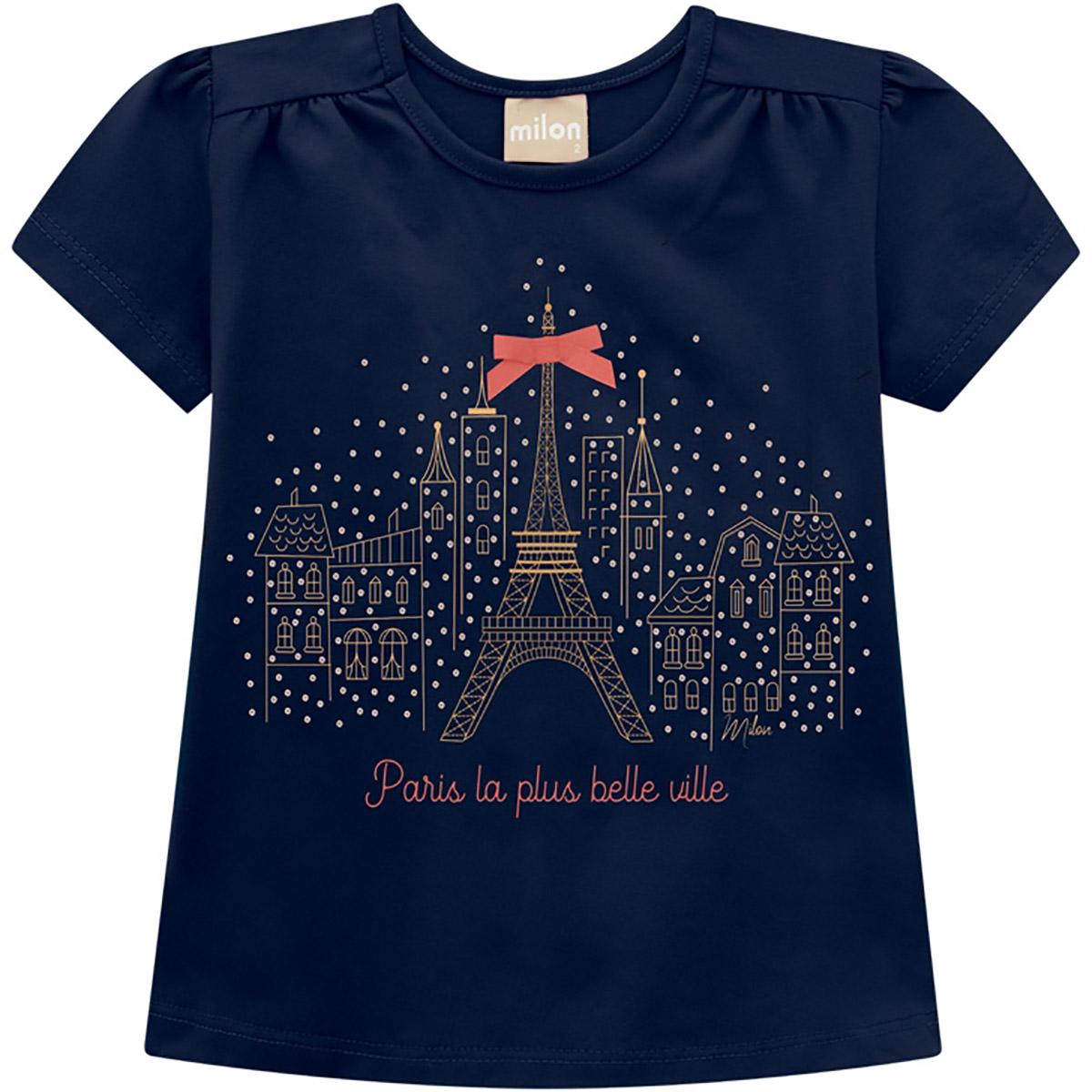 Conjunto Milon Feminino Bebê Paris La Plus Belle Ville