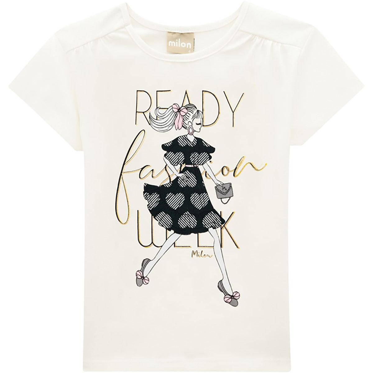 Conjunto Milon Feminino Infantil Fashion