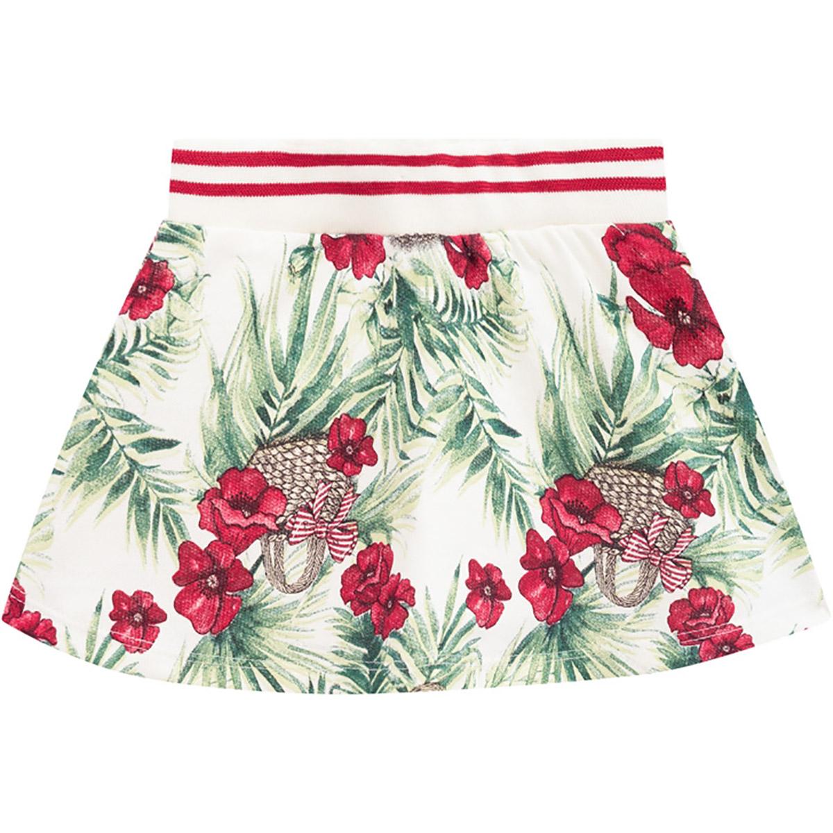 Conjunto Milon Feminino Infantil Flores