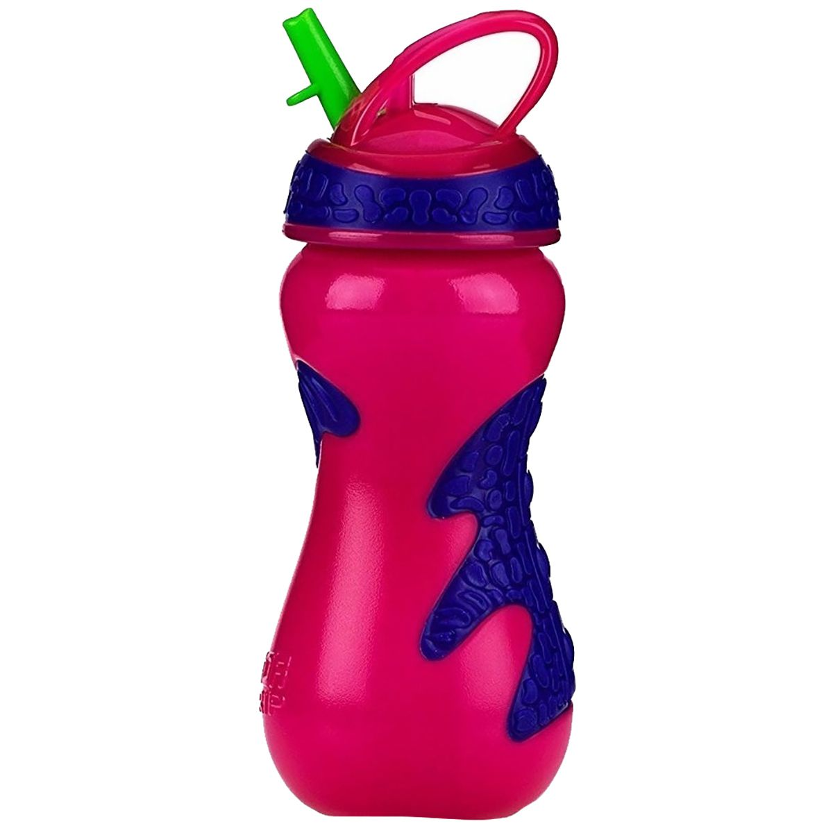 Copo Nuby Gator Grip Canudo Flip-It 450ml