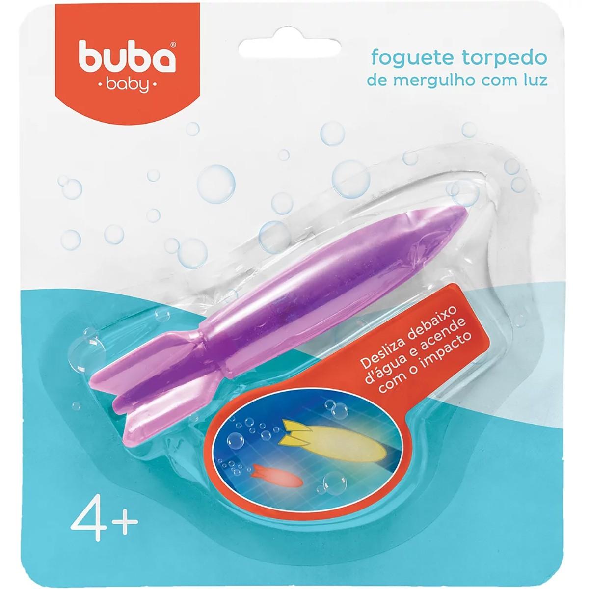 Foguete Torpedo Buba Baby Banho Luz