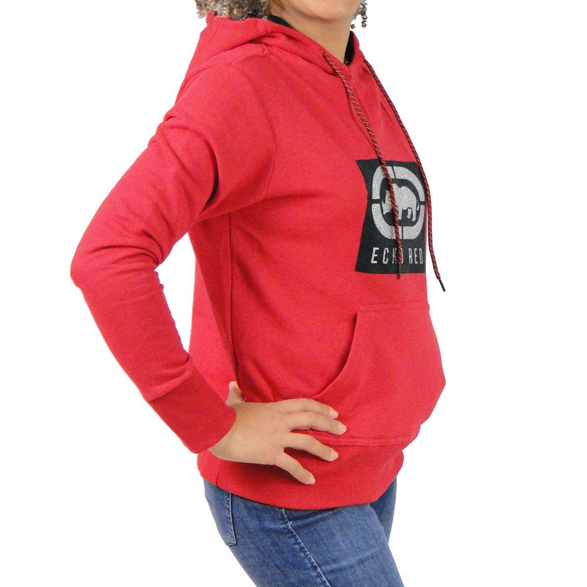 Jaqueta Ecko Feminina Logotipo Vermelha