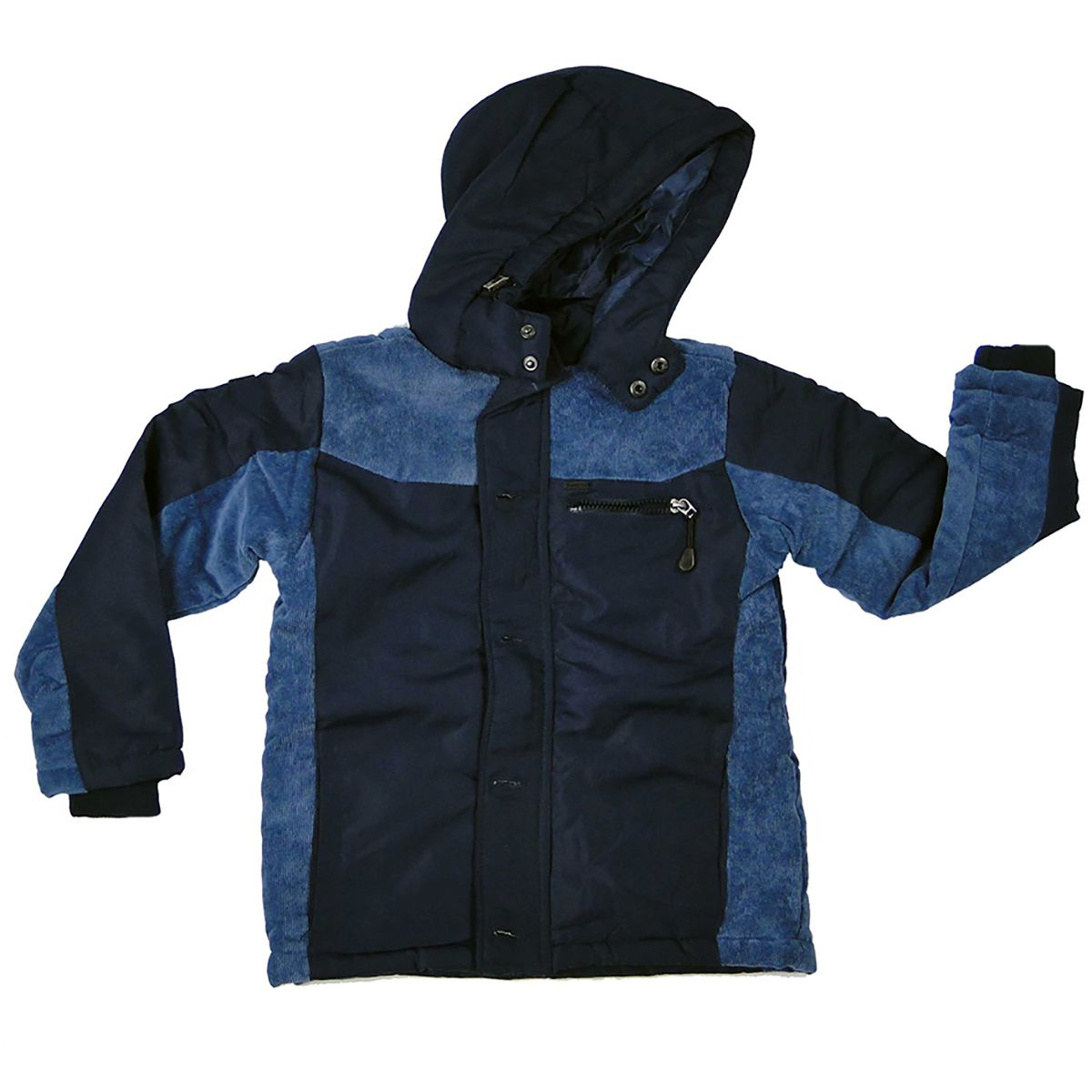 Jaqueta Gangster Masculina Azul Marinho