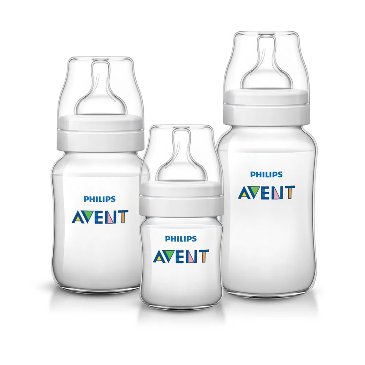 Kit Mamadeiras Philips Avent Anti Colica 3 unidades Classica