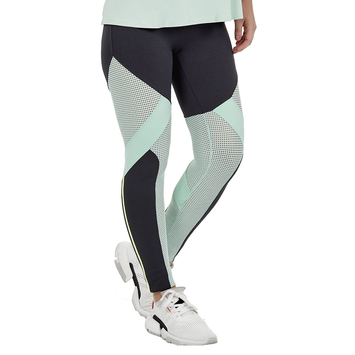 Legging Alto Giro Squash Emana Recortes Tela