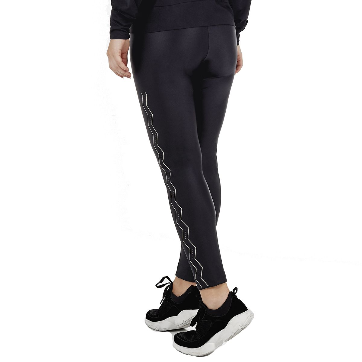 Legging Alto Giro Atletika Laser Stripes