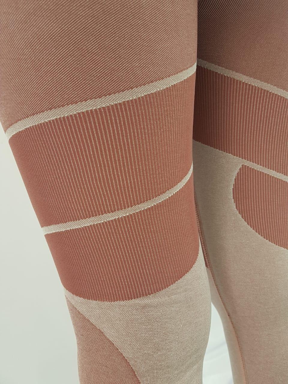 Legging Feminina Alto Giro Rosa
